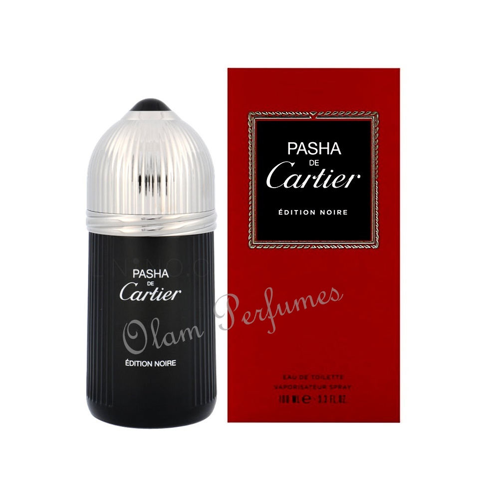 Pasha de Cartier Edition Noire Eau de Toilette Spray 3.3oz 100ml